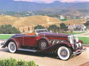 1932 Duesenberg Model Sj Convertible By Walker-Grande-july13a
