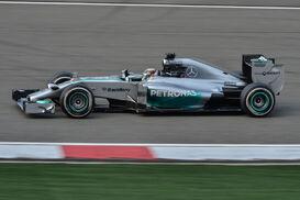 Lewis Hamilton 2014 China Race