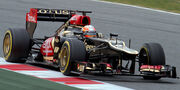 Romain Grosjean 2013 Catalonia test (19-22 Feb) Day 3