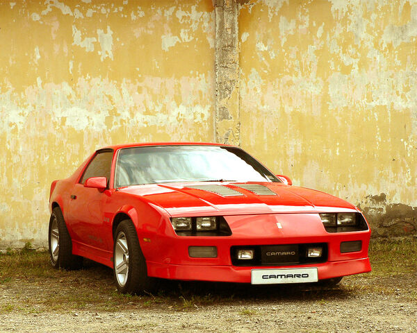 File:ChevroletcamaroIROC-Z-redfrontviewsstvwf.JPG