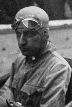 Carlo Felice Trossi at the 1934 Grand Prix automobile de Montreux (cropped)