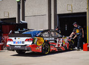 Tony Stewart Stewart-Haas Racing Chevrolet Texas April 2013