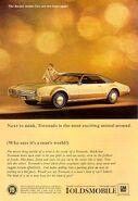 1967 Oldsmobile Tornado ad