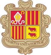 Oat of arms of Andorra