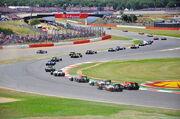 2010 British GP start