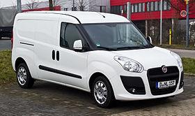 File:Fiat Doblò Cargo Maxi 1.6 16V Multijet (II) – Frontansicht, 3. März 2013, Düsseldorf.jpg