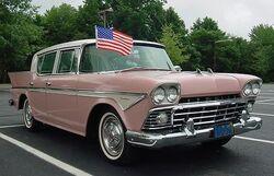 1958 Rambler sedan pink and white NJ