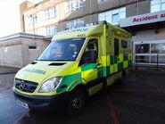 English ambulance