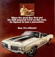 1970 Oldsmobile 442 455 Pace Setter