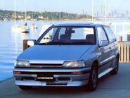 Daihatsu charade blue 1987