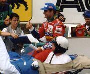 Rubens Barichello juillet 1995