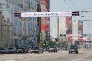 Putinmotorcade