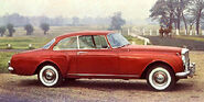 Std 1961 bentley s2 continental saloon-red-svr