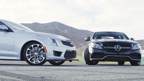 2016 Cadillac ATS-V vs. 2016 Mercedes-AMG C63 S - Head 2 Head Ep. 69