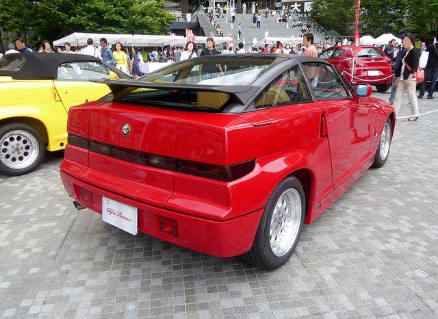 File:The rearview of Alfa Romeo SZ.JPG