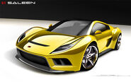 Saleen S5S Raptor drawing