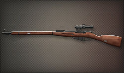 Weapon Sniper Mosin Nagant