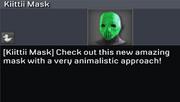 Kiittii Mask