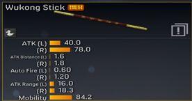 Wukong stats