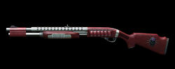 Remington870 Red Skull