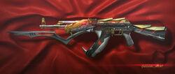 AK-47 Goldsnake