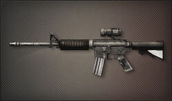 Weapon Assult Rifle M4A1