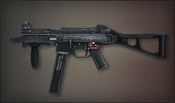 Weapon Pointman UMP45