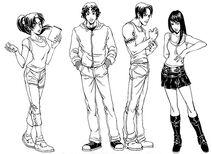 Ah manga characters