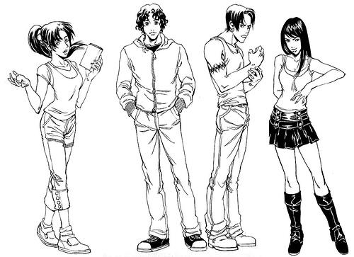 File:Ah manga characters.jpg
