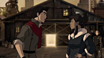 File:Korra and Mako arguing.png
