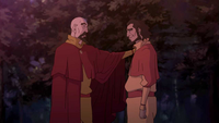 Tenzin and Bumi reconcile