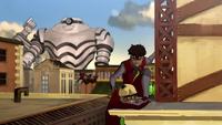Kai saving Ryu