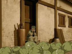 Cabbage merchant sobbing