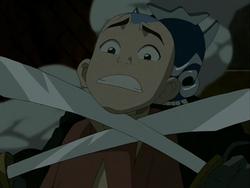 Blue Spirit threatens Aang.png