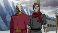 Tenzin and Mako