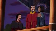 Asami, Tenzin, and Korra