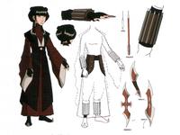 Mai's weapons