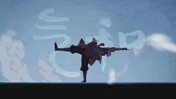Opening Aang airbending