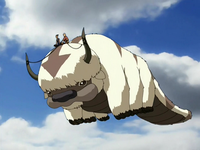 Appa flying