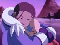 Katara comforts Aang