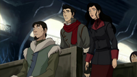 Mako and Asami shocked