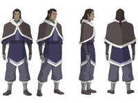 Young Unalaq concept art