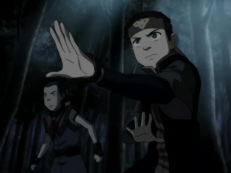 File:Aang and Sokka face Hama.png