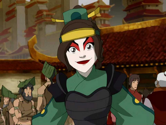 Datei:Ty Lee as a Kyoshi Warrior.png
