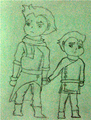 Chibi Mako and Bolin1.png