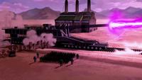 Spirit energy cannon firing