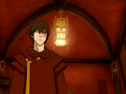 Zuko has made a decision