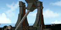 Fire Nation trebuchet