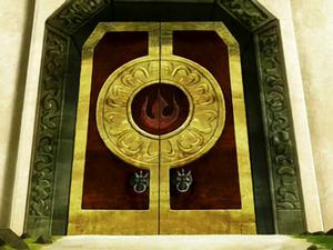 Piandao's castle door