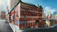Mako and Bolin's apartment building